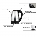 Electric-kettle-Cordless-with warranty