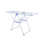 Foldable-Wing-Cloth-Drying-Rack—Blue