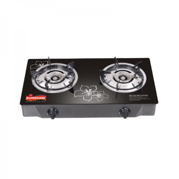 Kundhan Glass Top Gas cooker