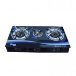 3 Burner Glass Top Gas Cooker Kitchen star