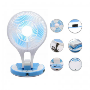Rechargeable Fan with LED